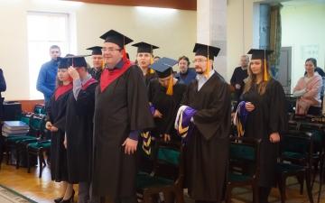 2 ноября 2019 года в Санкт-Петербургской евангелической Богословской Академии состоялась торжественная Градуация наших выпускников!_4