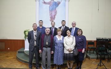 Представление дипломных работ и защита диссертационных работ в Санкт-Петербургской евангелической Богословской Академии._7